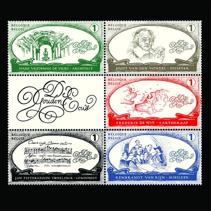 Postzegels Gouden Eeuw